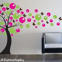 Samolepky na zeď v podobě moderní dekorace