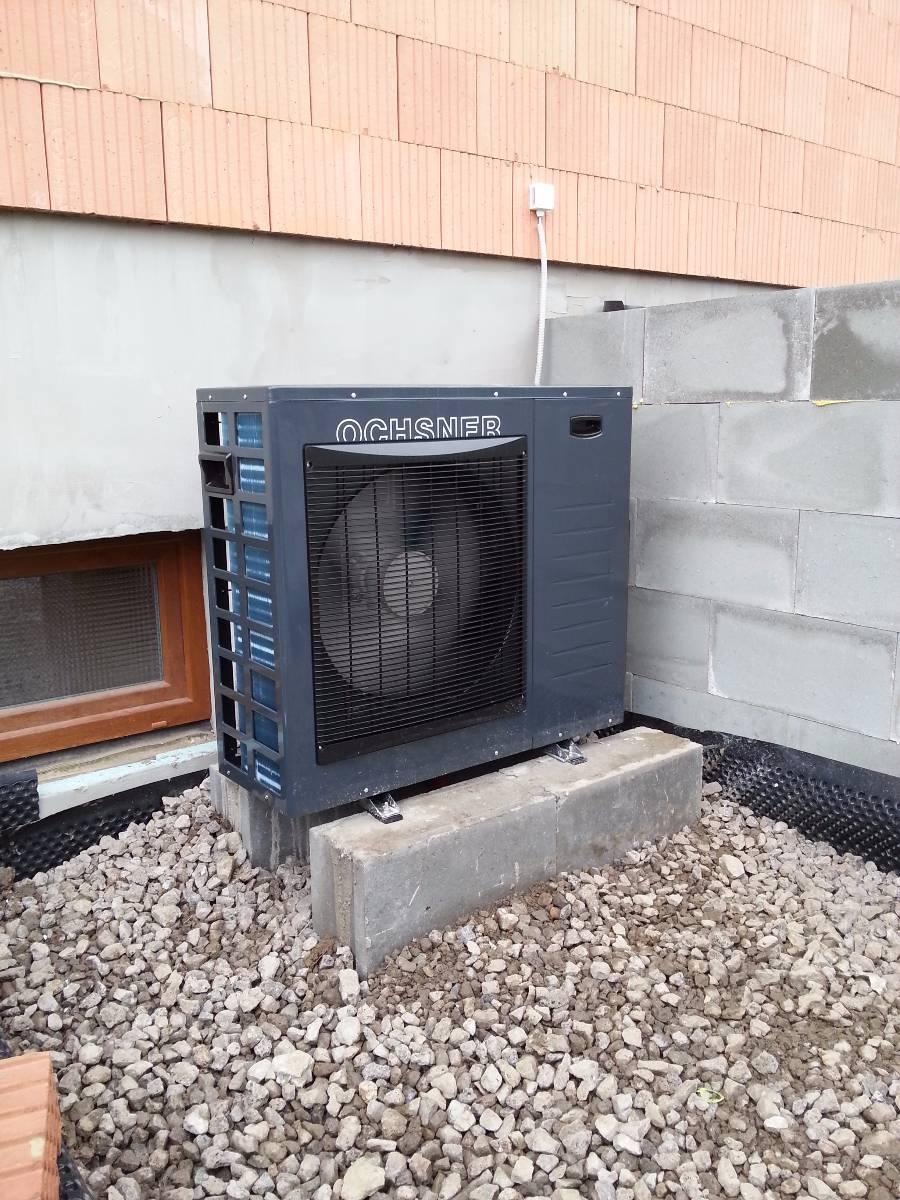 Tepelná čerpadla jsou hospodárný zdroj tepla
