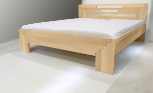 Masivní postele představují pevný doplněk ložnice