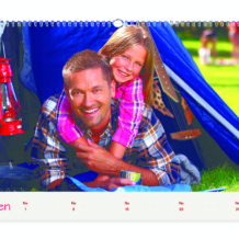 Ozdobte zeď vašeho příbytku fotokalendářem od Happy Foto!