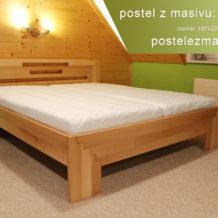 Kvalitní postel je základ. Co takhle postele z masivu?